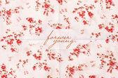 Piękna pocztówka z kwiatów wzór — Zdjęcie stockowe