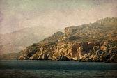 Vintage landschap — Stockfoto