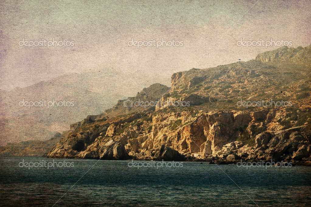 Vintage landscape — Stock Photo © mirabellart #5054481