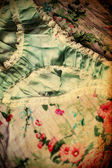 Fundo feminino vintage — Foto Stock