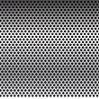 Metal grid background-vector.Metal texture. — Stock Vector