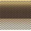 Gold grid background-vector.Gold texture. - Stock Vector