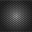 Metal grid - vector seamless background - Stock Vector