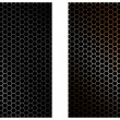 Speaker grill texture. Vector Illustration - Stock Vector