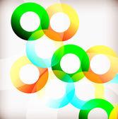 Duhové kruhy — Stock vektor