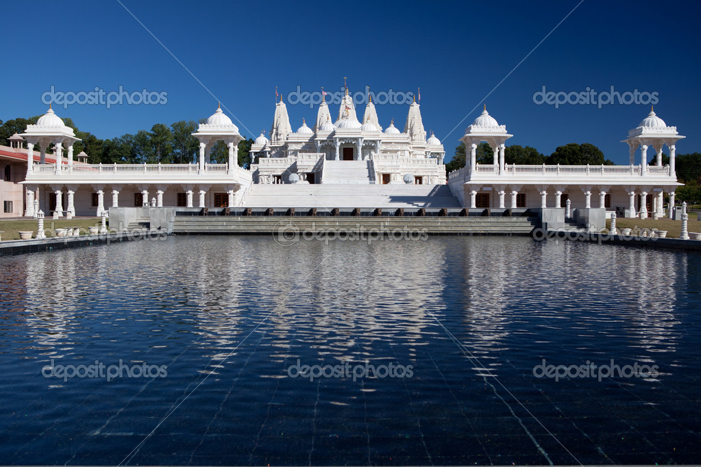 BAPS Swaminarayan Sanstha, Atlanta, Georgia. — Stock Photo #3982813