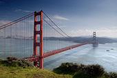Golden gate köprüsü. — Stok fotoğraf