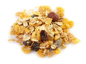 Muesli macro — Stock Photo