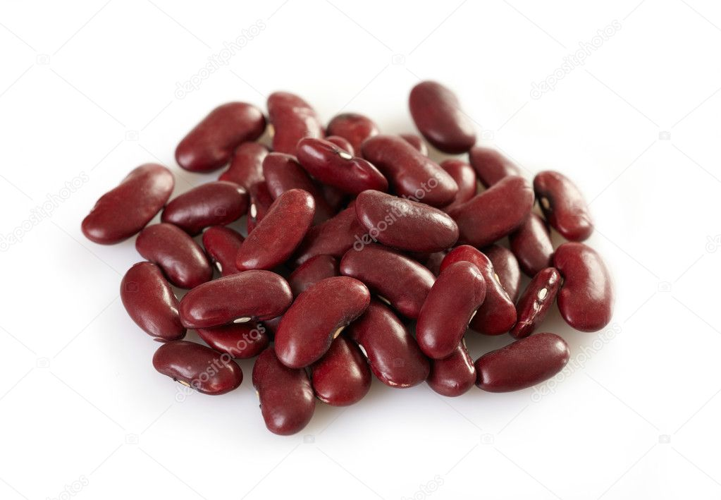 Red beans macro — Stock Photo #5324383