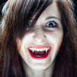 Vampire Girl — Stock Photo