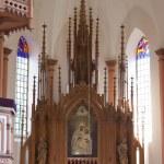 Altar in the Catholic Church — Stock Photo #4448709