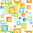 Abstract colorful background. Vector. — Stock Vector