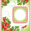 Floral design background - Image vectorielle