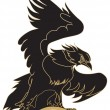 Eagle - vehicle graphic - 图库矢量图片