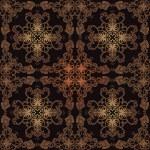 Damask seamless pattern. Vector illustration. — Stock Vector