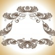 Vintage decoration vector — Stockvektor
