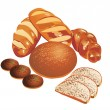 Bread - Stock Vector