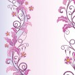 Royalty-Free Stock Vektorfiler: Pink romantic background
