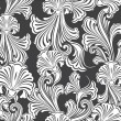 Royalty-Free Stock Vektorfiler: Repeating vector background pattern