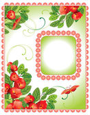 Floral design background — Stock Vector