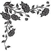 Peony flower vector — Stock Vector