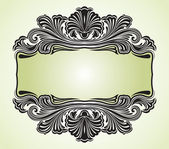 Illustration vintage background card for design - vector — 图库矢量图片