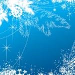 bakgrunden för nyår och jul — Stockvektor
