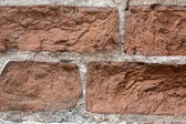 Structure of a brick wall — Stock Photo