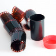 Stock Photo: Film with case