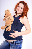 Pregnant woman — Stock Photo