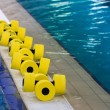 Equipment in pool — Stock Photo #4755580