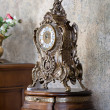 Interior Mantel Clock — Stock Photo
