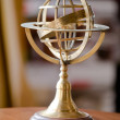 Metal armillary sphere — Stock Photo