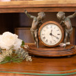 Interior Mantel Clock — Stock Photo #5204210