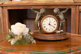 Interior Mantel Clock — Foto Stock