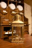 Lanterna de metal vintage — Fotografia Stock