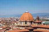 Widok florencja — Zdjęcie stockowe
