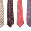 Royalty-Free Stock Photo: Set of man\'s ties isolated