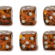 Dice set — Stock Photo