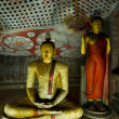 Ancient Buddha images - Foto Stock