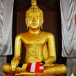 Buddha statue in temple - Stock fotografie