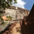 Stairway at Sigiriya rock. - Stock Photo
