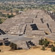 Pyramid of Moon. Teotihuacan, Mexico — Stock Photo #4517556