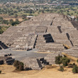 Pyramid of the Moon. Teotihuacan, Mexico — Stock Photo #4517556
