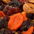 Various dried fruits close-up - Stock Photo