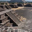 Stock Photo: TeotihuacPyramids