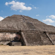 Stock Photo: Pyramid of the Sun. Teotihuacan, Mexico