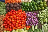 Vegetable market. India — Stock Photo