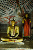 Ancient Buddha images — Stock Photo