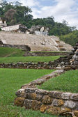 Ancient Mayan ruins in Palenke. — Stock Photo